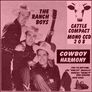 The Ranch Boys - Cowboy Harmony = Cattle CCD 208