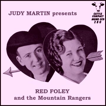 Red Foley - Judy Martin presents = Cattle CCD 280