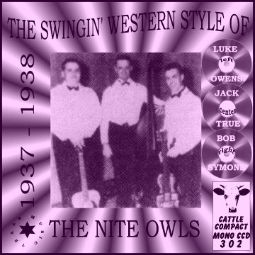 The Nite Owls - The Swingin' Western Style Of The Night Owls = Cattle CCD 302