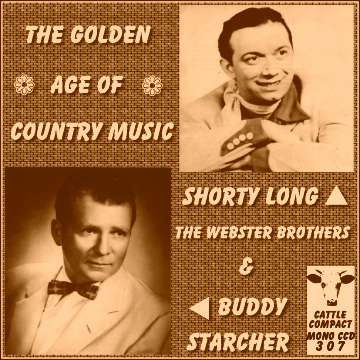 Shorty Long Webster Brothers Buddy Starcher