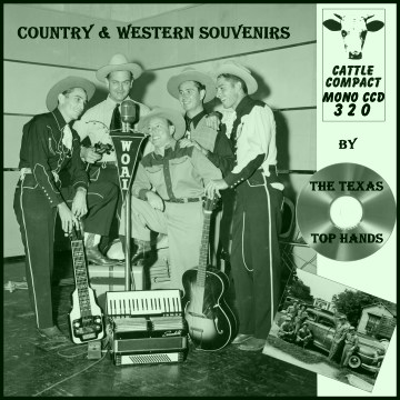 The Texas Top Hands - Country & Western Souvenirs = Cattle CCD 320